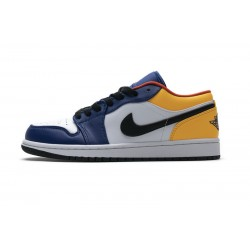 Air Jordan 1 Low Blue Yellow Orange