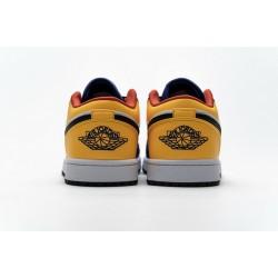 Air Jordan 1 Low Blue Yellow Orange