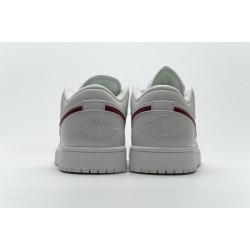 Air Jordan 1 Low Milk White Red