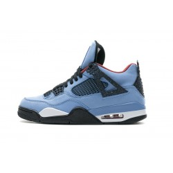 Men Air Jordan 4 Retro Houston Oilers
