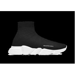 Balenciaga Speed Runner Mid Black White