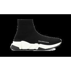 Balenciaga Speed Runner Mid Black White Black