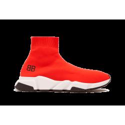 Balenciaga Speed Runner Mid Red