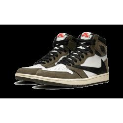 Air Jordan 1 Hi OG TS SP Travis Scott Grey Brown