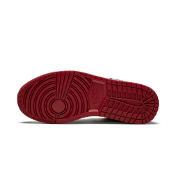 Air Jordan 1 Low Black Toe White Black Gym Red