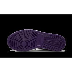 Air Jordan 1 Low Court Purple White Black Court Purple