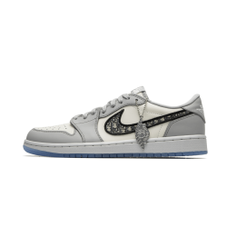 Air Jordan 1 Low Dior Grey