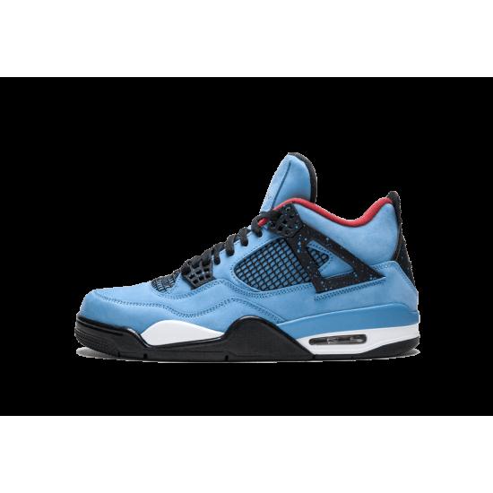 Air Jordan 4 Travis Scott Cactus Jack Blue