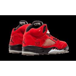 Air Jordan 5 DMP Raging Bull Red Black