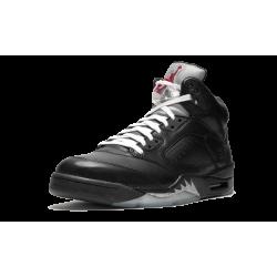 Air Jordan 5 Premio Bin 5 Black Black Metallic Silver