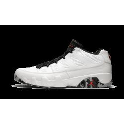 Air Jordan 9 Low Jordan Brand Classic White Grey Wolf Grey