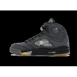 Jordan 5 Off White Black