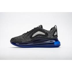 Men Nike Air Max 720 Pixel Black Blue