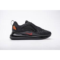 Men Nike Air Max 720 Black Heper Crimson Red