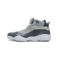 Jordan 6 Rings BG Basketball Shoes Grey