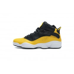 Jordan 6 Rings BG Basketball Shoes Yellow
