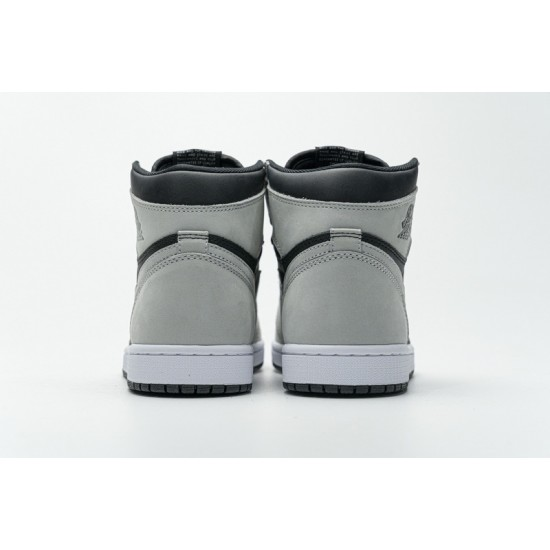 Air Jordan 1 Shadow 2.0 Black Light Smoke Grey