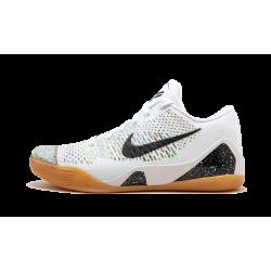 Nike Kobe 9 Premium HTM White Black-Multi-Color