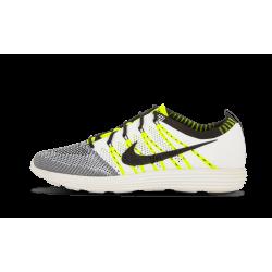 Nike Lunar Fly Knit HTM NRG White Black-Volt