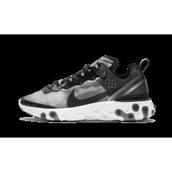 Nike React Element 87 Anthracite Black-White