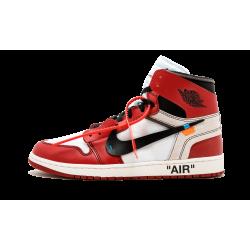 OFF WHITE x Air Jordan 1 Red