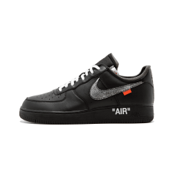OFF WHITE x Nike Air Force 1 07 Virgil x MoMa Black