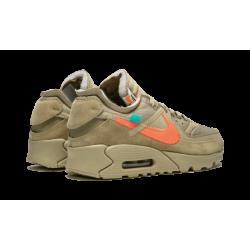OFF WHITE x Nike Air Max 90 Desert Ore Grey