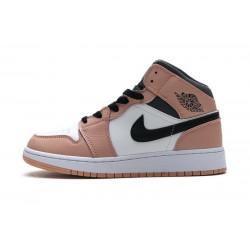 Women Air Jordan 1 Mid Pink Quartz