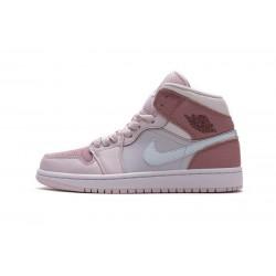 Women Air Jordan 1 Mid Digital Pink